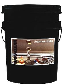 Aqueous Cleaners feature soil rejection chemistry.