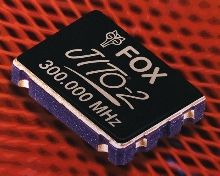 Programmable Oscillator provides 300 MHz frequency.