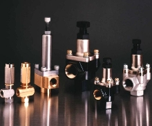 Valves offer chemical compatibility.