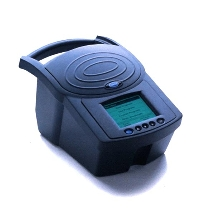 Portable Spectrophotometer analyzes water quality.