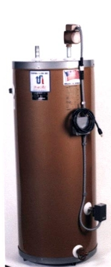 Water Heater and Booster are made of stainless steel.