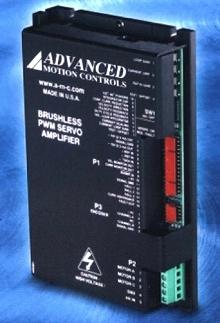 Brushless Servo Amplifier is field configurable.