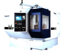 Bevel Gear Grinding Machine uses monolithic column design.