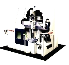 Vertical Turning Center has flexible tooling system.
