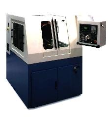 Sharpening Machine handles straight and spiral-gash gear hobs.