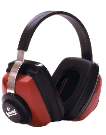 Earmuffs offer hearing protection and comfort .