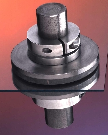 Magnetic Clutch transmits torque without contact.