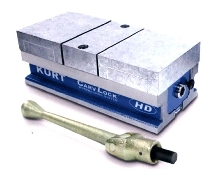 Workholding Vise suits small machining centers.
