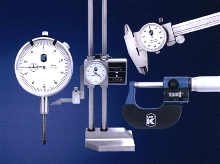 Measuring Instruments accurately read part features.