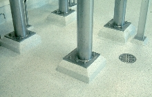 Floor Finishes provide chemical-resistant surfaces.
