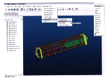 CAD Software allows collaborative 3D design.