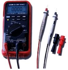 Multimeter works in hazardous areas.