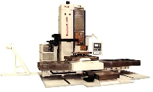 Horizontal Boring Mill has 590 ipm traverse rates.