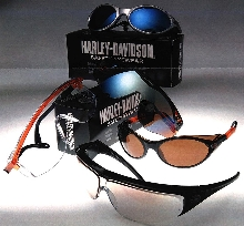 Safety Glasses made with Harley-Davidson® license.