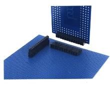 Board Mount Plug withstands reflow soldering temperatures.