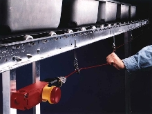 Rope Pull Safety Switches offer latching outputs.