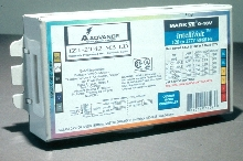 Fluorescent Lamp Ballast operates two 32 or 42 W triple CFLs.