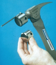 Titanium Hammer is offered with magnetic striking caps.