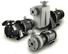 Non-Metallic Pumps handle corrosive chemical liquids.