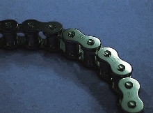Chains suit conveyor and equipment-related applications.