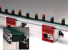 Conveyors transfer product without transfer plate.