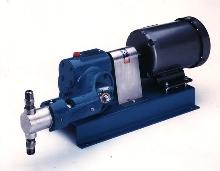 Metering Pump has tamper-resistant flow adjustment.