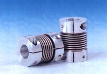 Bellow Couplings compensate for misalignments.