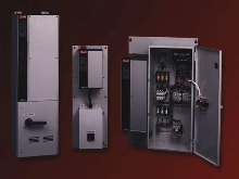 Enclosed Panels house adjustable frequency drives.