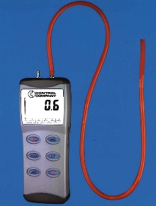 Presssure/Vacuum Gauge offers response time of 0.5 sec.