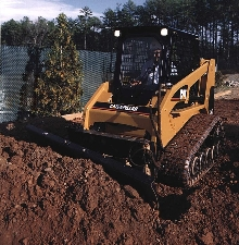 Multi Terrain Loader suits construction and landscaping.