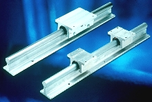 Shaft, Rail, and Bearing Assemblies are offered in 2 metals.