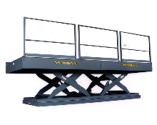 Work Platform for use in automotive paint lines.