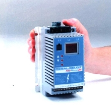 AC Drives provide variable speed control.