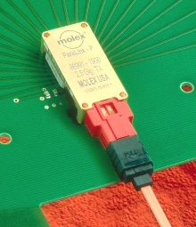 Optics Modules provide high-speed optical data transfer.
