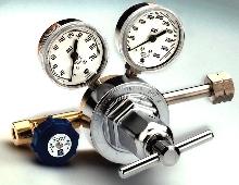 Pressure Regulator controls high purity, acid-forming gases.