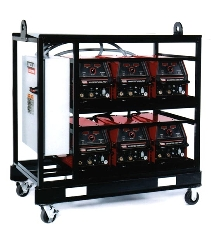 Power Source is available in inverter rack.