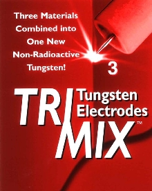 Tungsten Electrode starts arcs reliably.