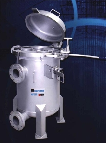 Multi-Bag Filters handle flow rates from 230 to 4500 gpm.