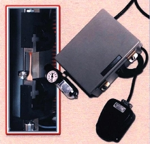 Clamp Control operates pneumatic tensile-tester clamps.