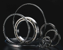 Bearings suit space, weight, and load constraint applications.