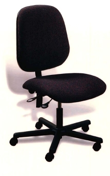 Ergonomic Backrest provides comfort and support.