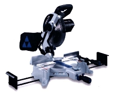 Miter Saw includes front bevel lock system.