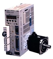 Servo Motors/Amplifiers offer speeds to 6,000 rpm.