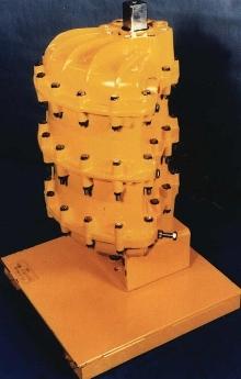 Quarter-Turn Actuator is powered pneumatically.