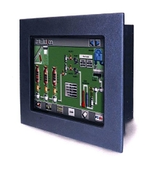 Touch Screen Display/Worstation suits harsh environments.