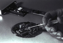 Epoxy Adhesive is graphite filled and electrically conductive.