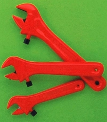 Adjustable Wrenches offer protection from electrical hazards.