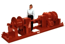 Power Winches are custom-built with variety of options.