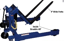 Container Tilter handles up to three tons.