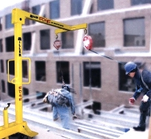 Fall Protection System meets OSHA and ANSI standards.